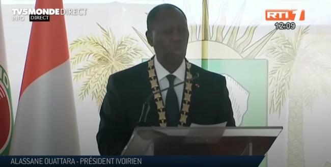 Côte d'Ivoire : Alassane Ouattara prête serment pour un troisième mandat  présidentiel | TV5MONDE Afrique